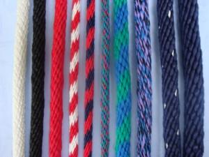 špiralno pletene navtične vrvi