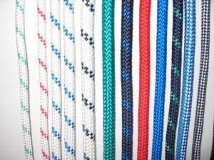 dvojno pletene navtične vrvi